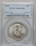 Franklin Half Dollars: , 1951 50C MS65 Full Bell Lines PCGS. PCGS Population (579/96). NGCCensus: (95/18). Numismedia Wsl. Price for problem free ...