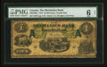 Canadian Currency: , Montreal, CE - The Mechanics Bank $4 June 1, 1872 Ch. # 430-10-02a. ...