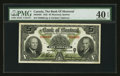 Canadian Currency: , Montreal, PQ - The Bank of Montreal $5 Nov. 7, 1942 Ch. #505-64-02. ...