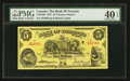 Canadian Currency: , Toronto, ON - The Bank of Toronto $5 Jan. 2, 1937 Ch. # 715-24-06....