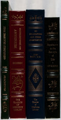 Books:Medicine, [Medicine]. Group of Four Books from The Classics of MedicineLibrary Reprint Series. Full leather. Overall fine... (Total: 4Items)