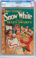 Golden Age (1938-1955):Cartoon Character, Four Color #49 Snow White (Dell, 1944) CGC NM- 9.2 Cream tooff-white pages....