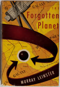 Books:Science Fiction & Fantasy, Murray Leinster. INSCRIBED. The Forgotten Planet. Gnome, 1954. First edition, first printing. Currey binding (A). ...