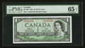 Canadian Currency: , BC-29b $1 1954 Devils Face. ...