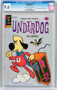 Underdog #1 (Gold Key, 1975) CGC NM+ 9.6 Off-white to white pages