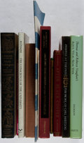 Books:Books about Books, [Books About Books]. Carl Hertzog, Booth Tarkington, and More. Group of 11 Books. Good or better condition.... (Total: 11 Items)