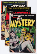 Golden Age (1938-1955):Science Fiction, Mister Mystery Group (Aragon, 1952-54) Condition: Average GD-....(Total: 5 Comic Books)