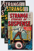 Golden Age (1938-1955):Horror, Strange Stories of Suspense #5 (#1)-8 Group (Atlas, 1955-56)....(Total: 4 Comic Books)
