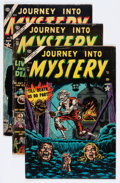Golden Age (1938-1955):Horror, Journey Into Mystery Group (Marvel, 1953-55).... (Total: 5 ComicBooks)