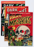 Golden Age (1938-1955):Horror, Dark Mysteries #2, 14, and 16 Group (Master Publications,1951-53).... (Total: 3 Comic Books)