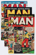 Golden Age (1938-1955):Non-Fiction, Man Comics #2 and 4-10 Group (Atlas, 1950-51) Condition: AverageVG.... (Total: 8 Comic Books)