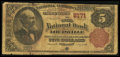 National Bank Notes:Kentucky, Louisville, KY - $5 1882 Brown Back Fr. 474 The Third NB Ch. #2171. ...