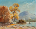 Fine Art - Painting, American:Contemporary   (1950 to present)  , WOODY GWYN (American, b. 1944). Indian Summer, 1959. Oil oncanvas board . 20 x 24 inches (50.8 x 61.0 cm). Signed and d...