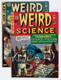 Golden Age (1938-1955):Science Fiction, Weird Science Group (EC, 1950).... (Total: 2 Comic Books)