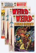Golden Age (1938-1955):Science Fiction, Weird Science-Fantasy #25-28 Group (EC, 1954-55) Condition: AverageFR/GD.... (Total: 4 Comic Books)