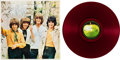 Music Memorabilia:Recordings, Iveys Maybe Tomorrow Red Vinyl LP (Japan - Apple 8719,1969). ...