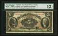 Canadian Currency: , Halifax, NS - The Bank of Nova Scotia $5 Jan. 2, 1924 Ch. #550-32-02. ...