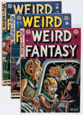 Golden Age (1938-1955):Science Fiction, Weird Fantasy Group (EC, 1951-53).... (Total: 9 Comic Books)