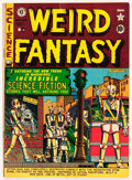 Golden Age (1938-1955):Science Fiction, Weird Fantasy #6 (EC, 1951) Condition: FN-....