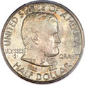 Commemorative Silver, 1922 50C Grant With Star MS66 PCGS. CAC....