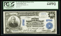 National Bank Notes:Tennessee, Bristol, TN - $10 1902 Plain Back Fr. 624 The First NB Ch. # 2796....