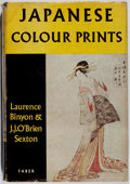 Books:Art & Architecture, Laurence Binyon and J. J. O'Brien Sexton. Japanese Colour Prints. Faber and Faber Limited, 1960. New edition. Il...