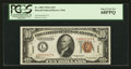 Small Size:World War II Emergency Notes, Fr. 2303 $10 1934A Hawaii Federal Reserve Note. PCGS Superb Gem New68PPQ.. ...