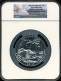 Modern Bullion Coins, 2010 25C Yellowstone Five Ounce, Early Releases Gem UncirculatedNGC. (#505101)...