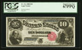 Large Size:Legal Tender Notes, Fr. 111 $10 1880 Legal Tender PCGS Superb Gem New 67PPQ.. ...