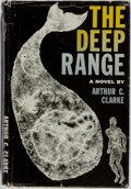 Books:Science Fiction & Fantasy, Arthur C. Clarke. SIGNED. The Deep Range. Harcourt, Brace and Company, 1957. First edition. Signed by the author. Publis...