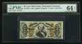 Fractional Currency:Third Issue, Fr. 1336 50¢ Third Issue Spinner PMG Choice Uncirculated 64 EPQ.. ...