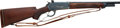 Long Guns:Lever Action, Customized Winchester Model 71 Lever Action Sporting Rifle. ...