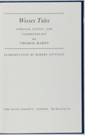 Books:Literature Pre-1900, Thomas Hardy. Wessex Tales Strange, Lively, and Commonplace.The Folio Society, 1987. Wood engravings by Peter R...