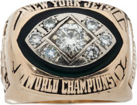 1968-69 New York Jets Championship Ring Presented to Earl Christy