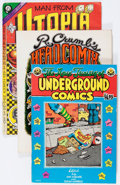 Silver Age (1956-1969):Alternative/Underground, Underground Oversized Comix Group (Various Publishers, 1968-74)Condition: Average FN.... (Total: 3 Comic Books)