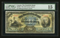 Canadian Currency: , Toronto, ON- The Dominion Bank $20 Jan 2, 1925 Ch # 220-20-08. ...