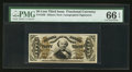 Fractional Currency:Third Issue, Fr. 1330 50¢ Third Issue Spinner PMG Gem Uncirculated 66 EPQ.. ...