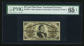 Fractional Currency:Third Issue, Fr. 1297 25¢ Third Issue PMG Gem Uncirculated 65 EPQ.. ...