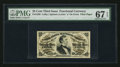 Fractional Currency:Third Issue, Fr. 1298 25¢ Third Issue PMG Superb Gem Unc 67 EPQ.. ...