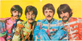 Music Memorabilia:Autographs and Signed Items, Beatles John Lennon Signed Sgt. Peppers Lonely Hearts Club Band Album Cover (Capitol 2653, 1967)....