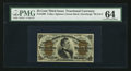 Fractional Currency:Third Issue, Fr. 1299 25¢ Third Issue PMG Choice Uncirculated 64.. ...