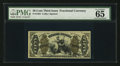 Fractional Currency:Third Issue, Fr. 1364 50¢ Third Issue Justice PMG Gem Uncirculated 65 EPQ.. ...