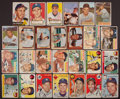 Baseball Cards:Autographs, 1950's Baseball Greats Signed Cards Lot of 27....
