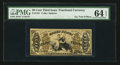 Fractional Currency:Third Issue, Fr. 1351 50¢ Third Issue Justice PMG Choice Uncirculated 64 EPQ.....