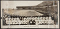 Baseball Collectibles:Photos, 1928 Chicago Cubs Team Signed Panoramic Photo w/Hack Wilson. ...