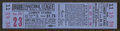 Baseball Collectibles:Tickets, 1947 Brooklyn Dodgers vs. New York Giants Full Ticket - JackieRobinson's First Season. ...