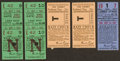 Baseball Collectibles:Tickets, 1947-50 Brooklyn Dodgers Ticket Stub - Lot of 5. ...