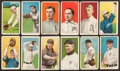 Baseball Cards:Lots, 1909-11 T206 White Border Collection (12) with McGraw/Tolstoi. ...