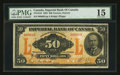 Canadian Currency: , Toronto, ON- The Imperial Bank of Canada $50 Nov. 1, 1923 Ch #375-18-16. ...