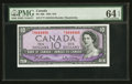 Canadian Currency: , BC-40b $10 1954. ...